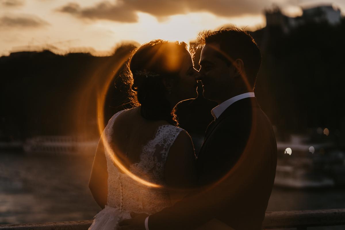 birdy bandit mariage photographe paris serres d auteuil passerelle debilly 12 - Séance mariage Day After au jardin botanique des Serres D'Auteuil de Paris