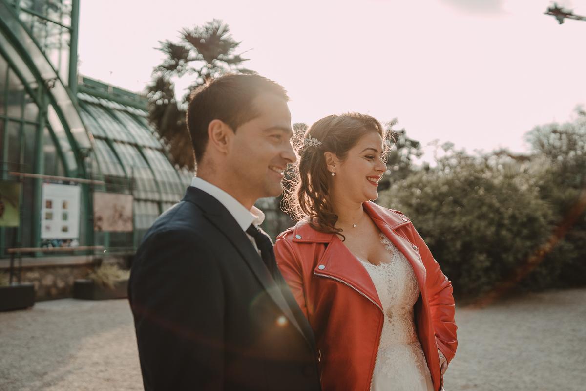 birdy bandit mariage photographe paris serres d auteuil passerelle debilly 13 - Séance mariage Day After au jardin botanique des Serres D'Auteuil de Paris