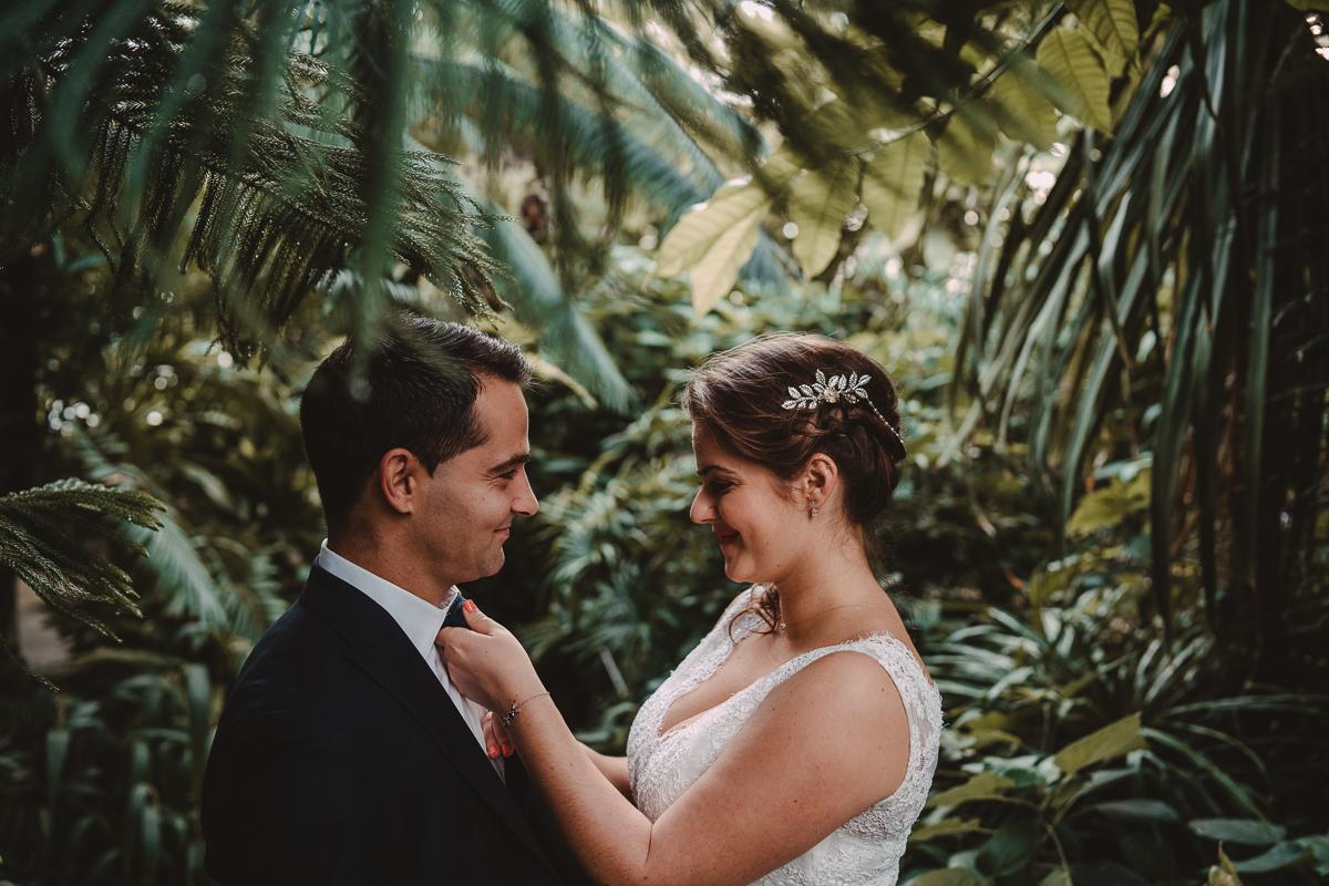 birdy bandit mariage photographe paris serres d auteuil passerelle debilly 15 - Séance mariage Day After au jardin botanique des Serres D'Auteuil de Paris