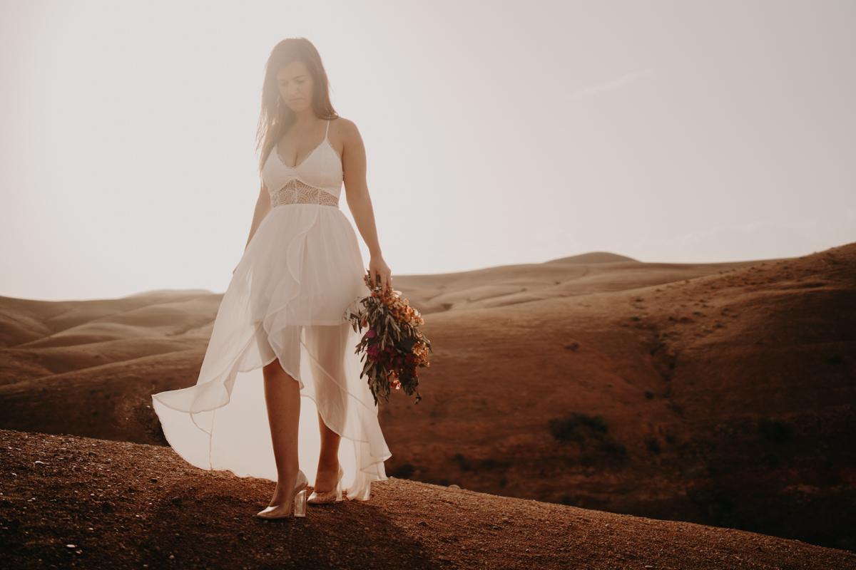 Elopement marrakech latw5 141 - Wedding - Désert d'Agafay et jardin Majorelle - Un elopement à Marrakech