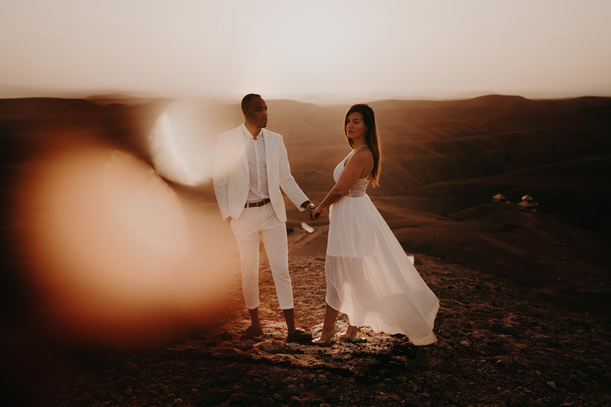 Elopement marrakech latw5 312 1 - Wedding - Désert d'Agafay et jardin Majorelle - Un elopement à Marrakech