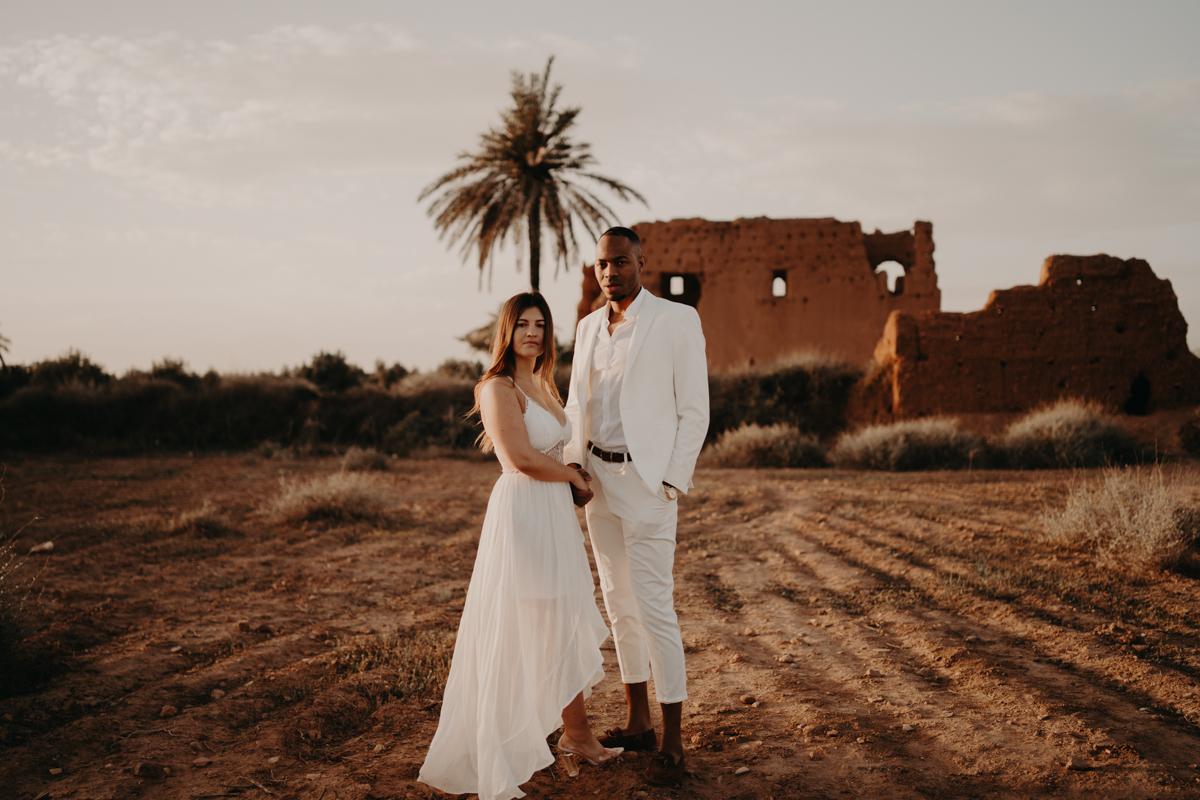 Elopement marrakech latw5 62 1 - Wedding - Désert d'Agafay et jardin Majorelle - Un elopement à Marrakech