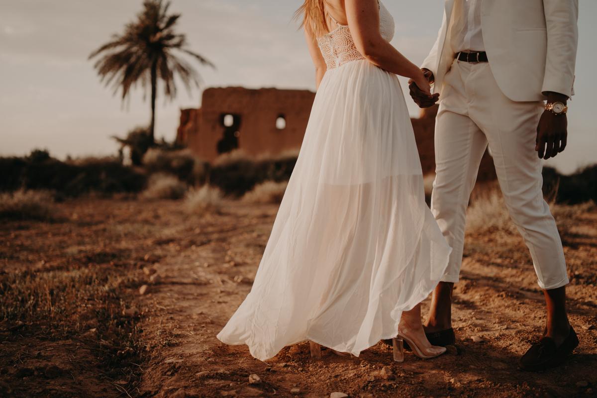 Elopement marrakech latw5 69 1 - Wedding - Désert d'Agafay et jardin Majorelle - Un elopement à Marrakech