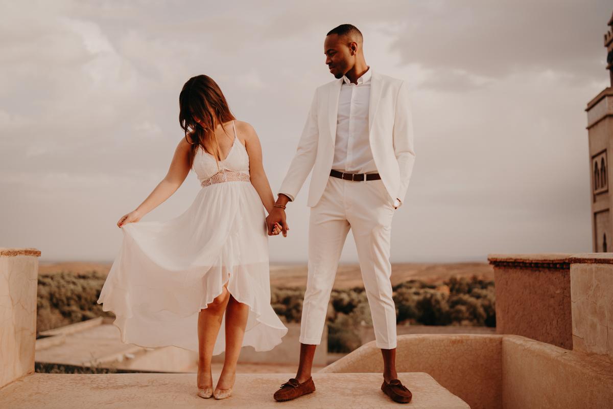Elopement marrakech latw5 95 - Wedding - Désert d'Agafay et jardin Majorelle - Un elopement à Marrakech