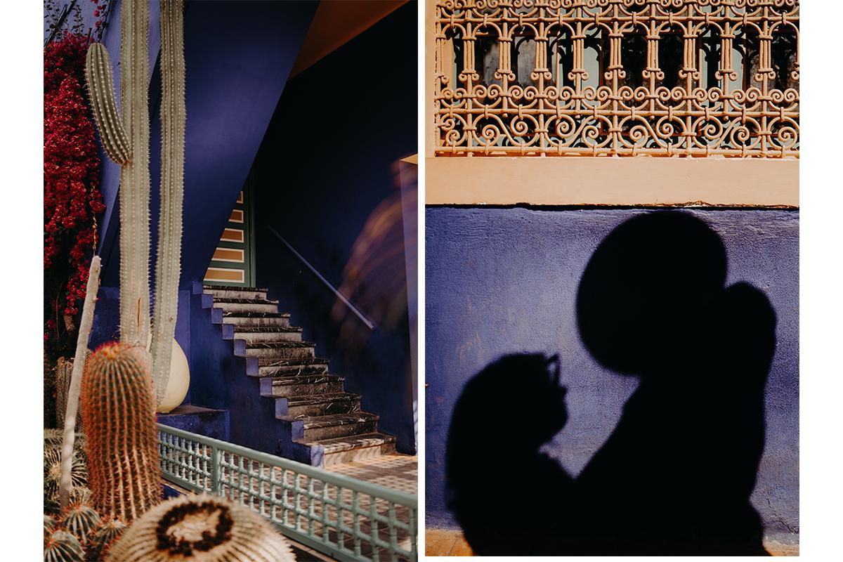laurene and the wolf marrakech elopement 15 - Wedding - Désert d'Agafay et jardin Majorelle - Un elopement à Marrakech