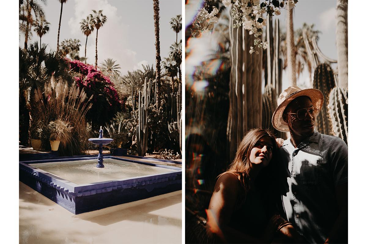 laurene and the wolf marrakech elopement 17 - Wedding - Désert d'Agafay et jardin Majorelle - Un elopement à Marrakech