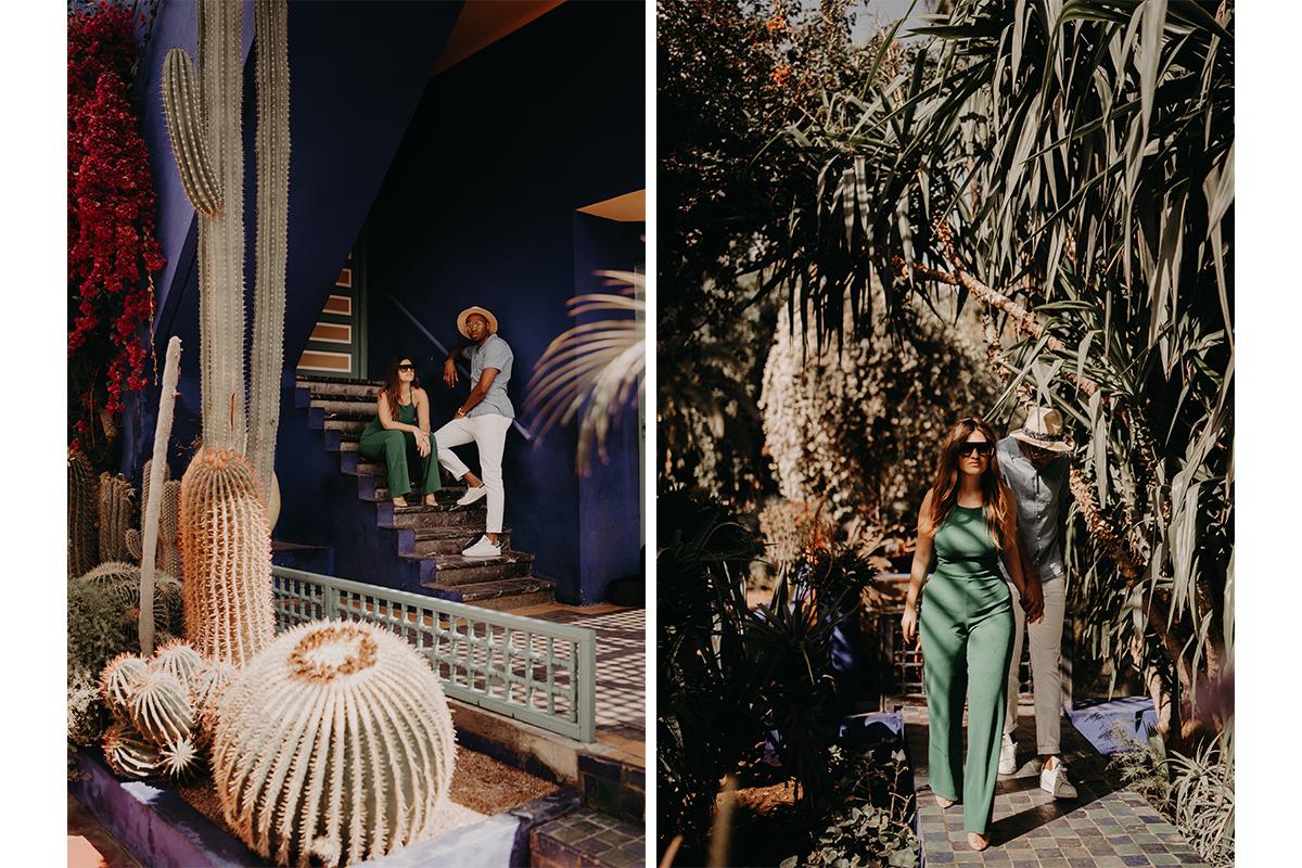 laurene and the wolf marrakech elopement 19 - Wedding - Désert d'Agafay et jardin Majorelle - Un elopement à Marrakech