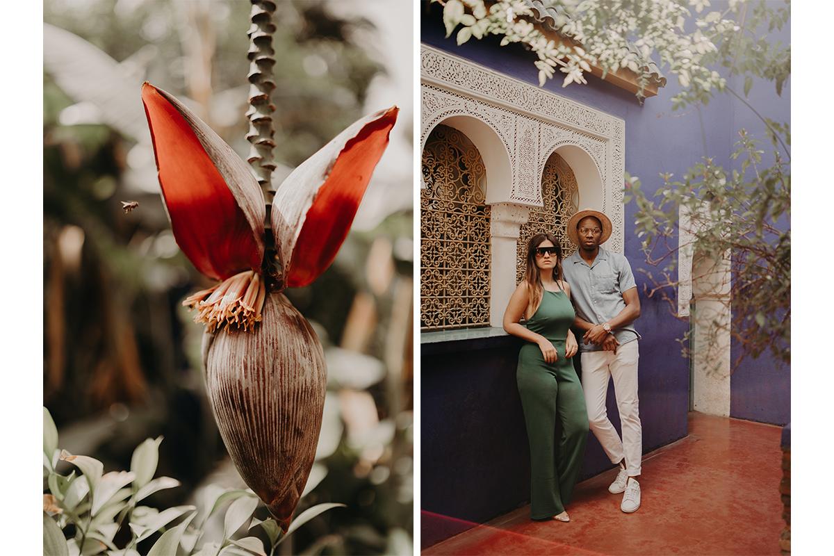 laurene and the wolf marrakech elopement 21 - Wedding - Désert d'Agafay et jardin Majorelle - Un elopement à Marrakech