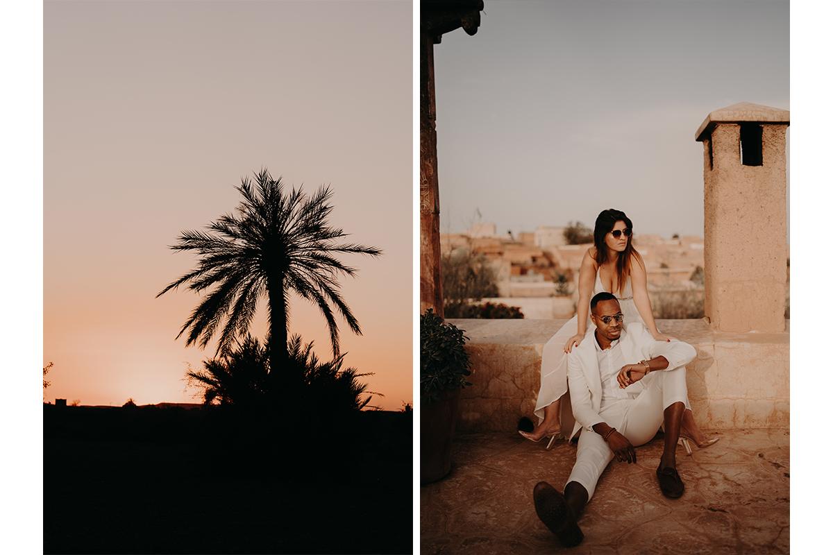 laurene and the wolf marrakech elopement 3 - Wedding - Désert d'Agafay et jardin Majorelle - Un elopement à Marrakech