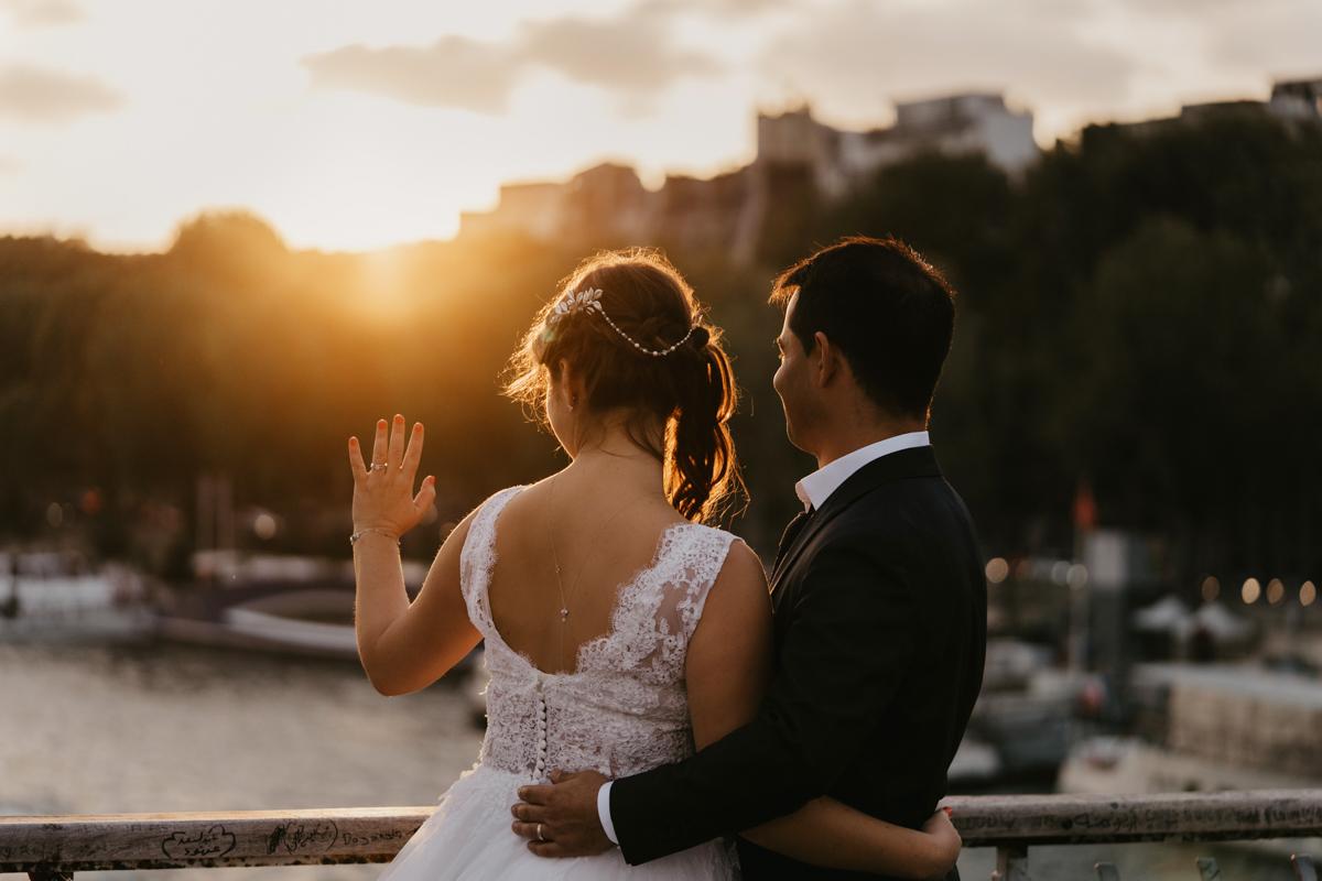 birdy bandit photographe videaste mariage paris passerelle debilly
