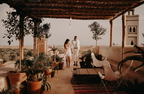 elopement marrakech mariage destination wedding europe oriental marrakesh maroc laurene and the wolf photographe videaste majorelle riad agafay