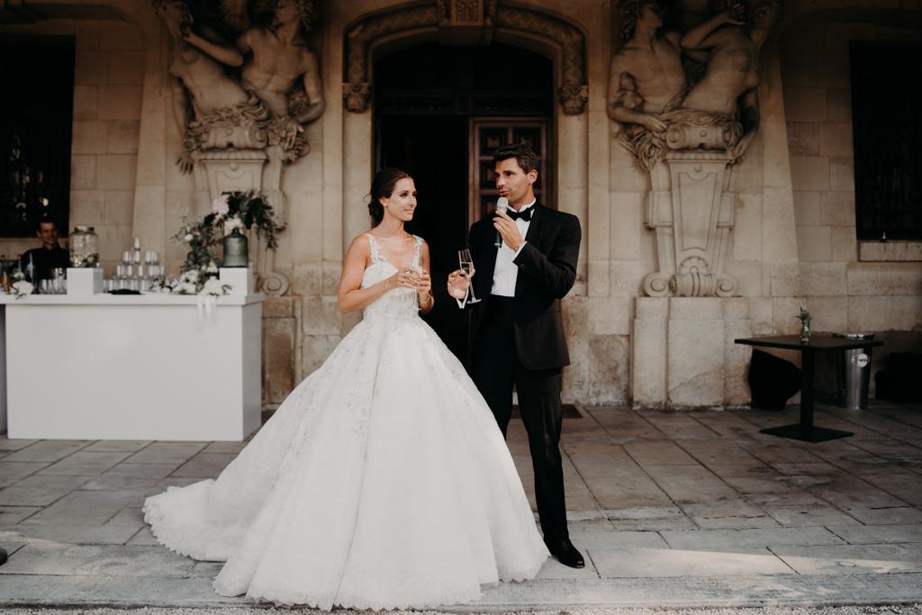 Mariage chateau de bouffémont wedding paris France french castle princess