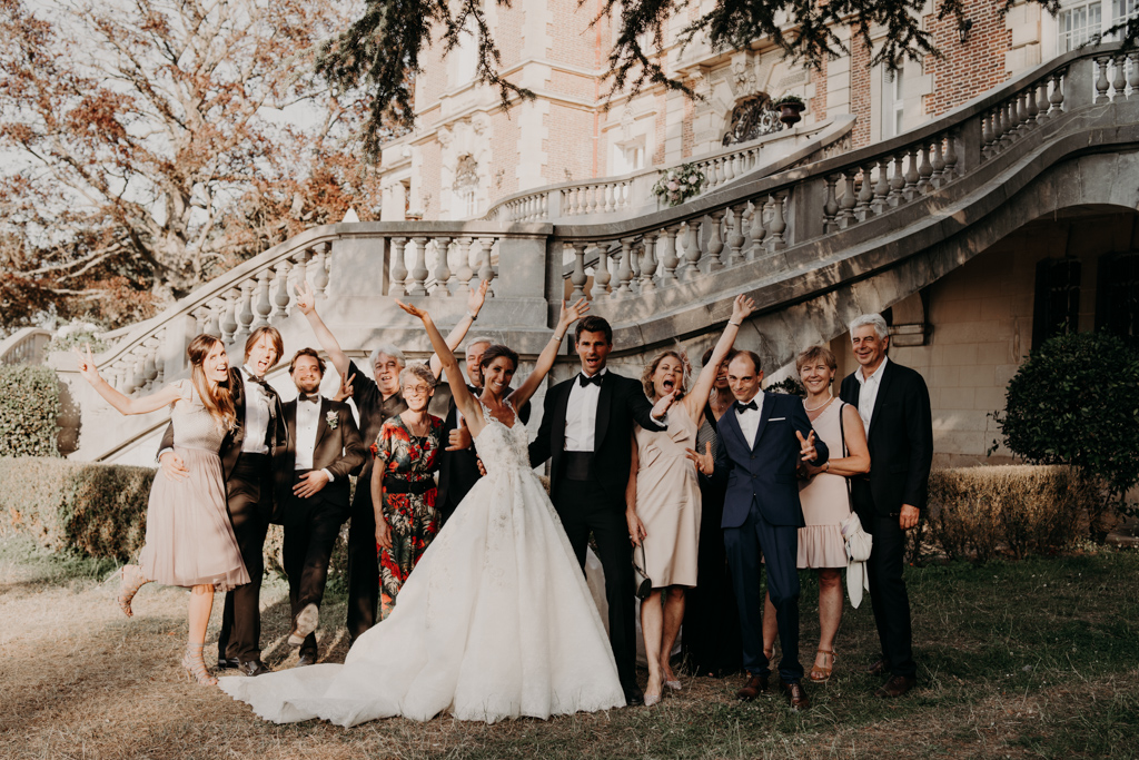 Mariage chateau de bouffémont wedding paris France french castle
