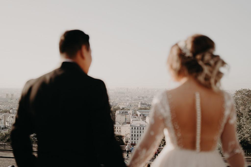 LaureneAndTheWolf montmartre tour eiffel Paris 25 2 1024x683 - Elopement à Paris - shooting Tour Eiffel, Montmartre, FR