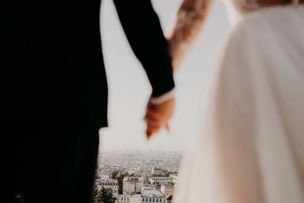 LaureneAndTheWolf montmartre tour eiffel Paris 28 2 1024x683 - Elopement à Paris - shooting Tour Eiffel, Montmartre, FR