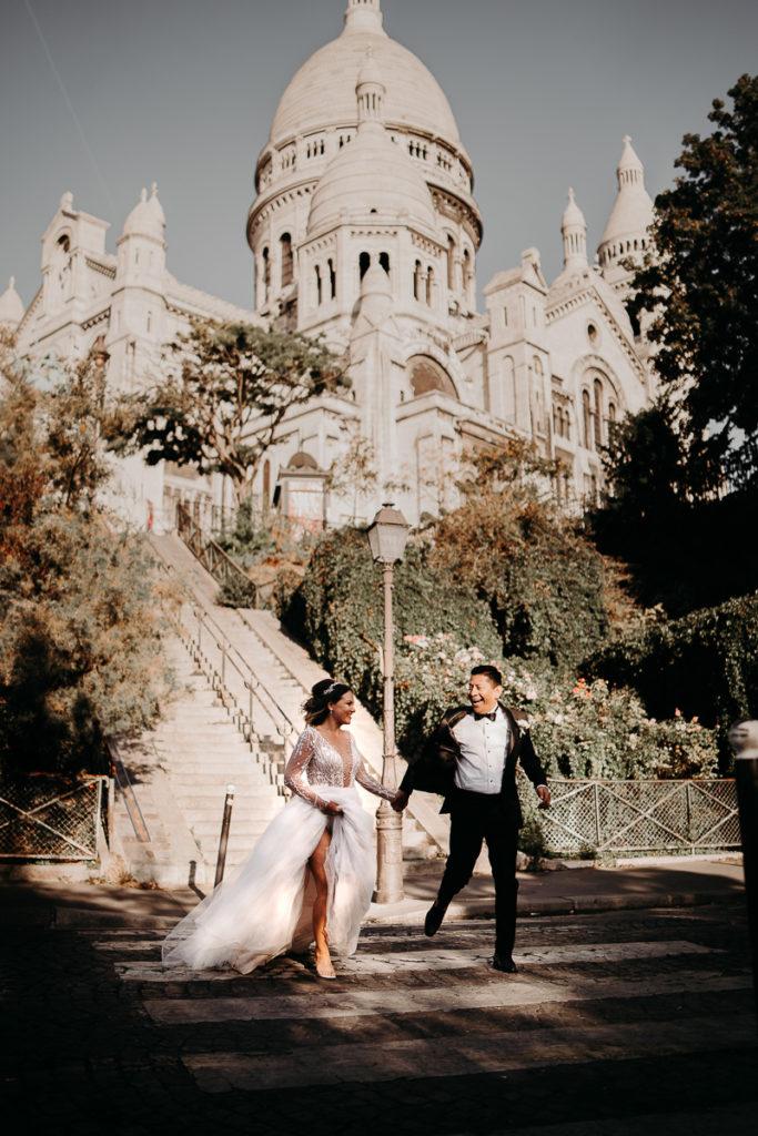 LaureneAndTheWolf montmartre tour eiffel Paris 47 2 683x1024 - Elopement à Paris - shooting Tour Eiffel, Montmartre, FR