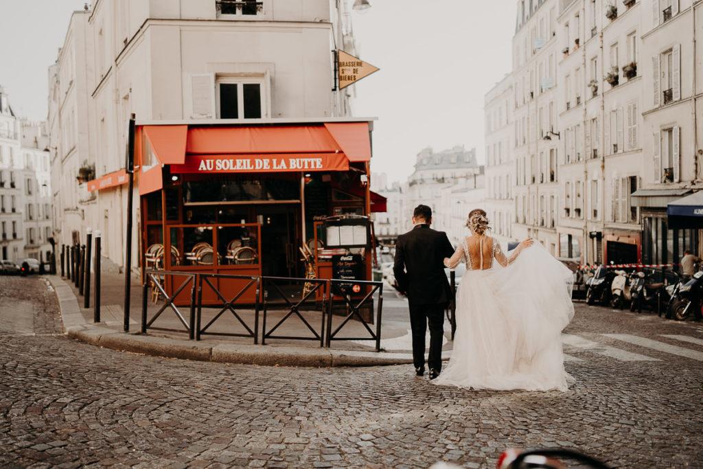 LaureneAndTheWolf montmartre tour eiffel Paris 54 2 1024x683 - Elopement à Paris - shooting Tour Eiffel, Montmartre, FR