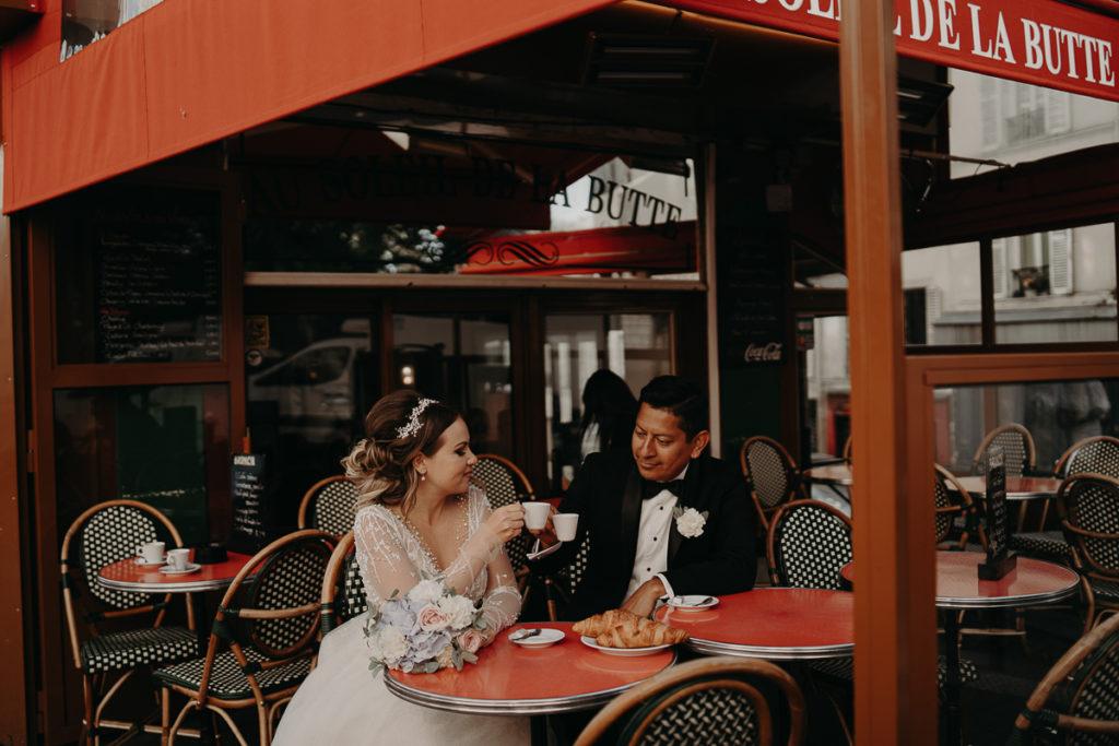 LaureneAndTheWolf montmartre tour eiffel Paris 56 2 1024x683 - Elopement à Paris - shooting Tour Eiffel, Montmartre, FR