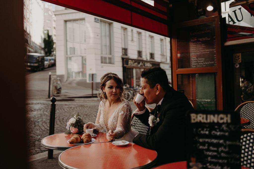LaureneAndTheWolf montmartre tour eiffel Paris 61 2 1024x683 - Elopement à Paris - shooting Tour Eiffel, Montmartre, FR