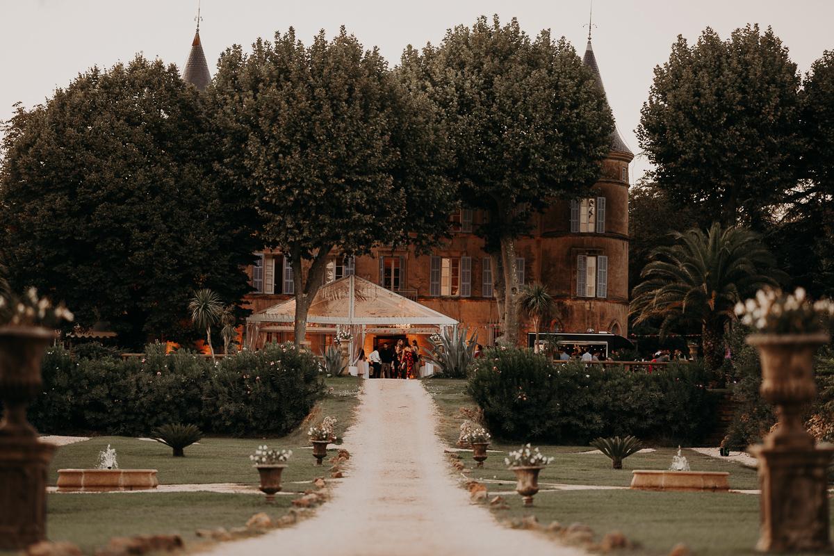 mariage château robernier