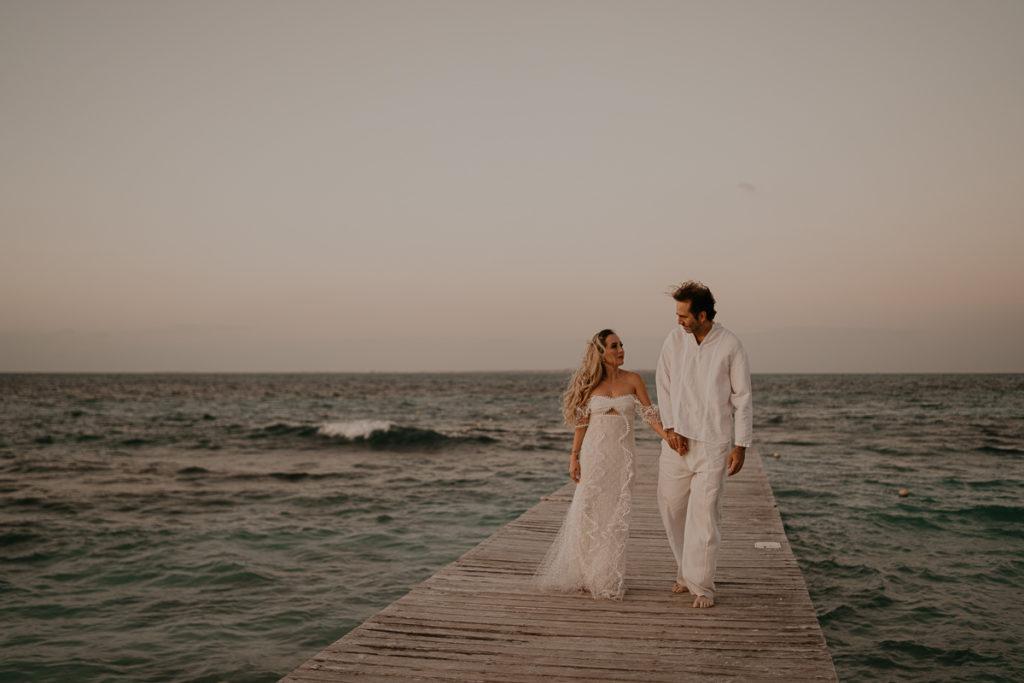 laurene and the wolf mariage boheme cancun mexique 140 1024x683 - Mariage bohème à Cancùn : Norma et Brian