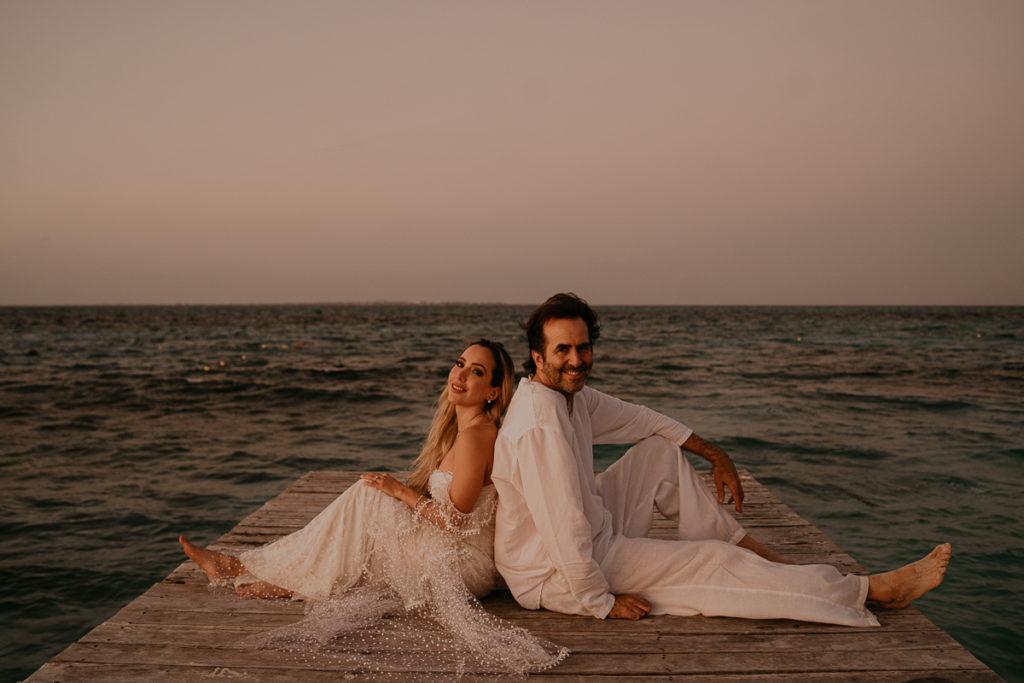 laurene and the wolf mariage boheme cancun mexique 163 1024x683 - Mariage bohème à Cancùn : Norma et Brian