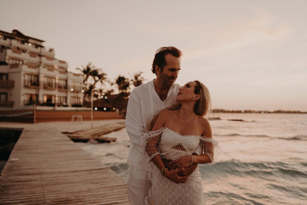 laurene and the wolf mariage boheme cancun mexique 167 1024x683 - Mariage bohème à Cancùn : Norma et Brian