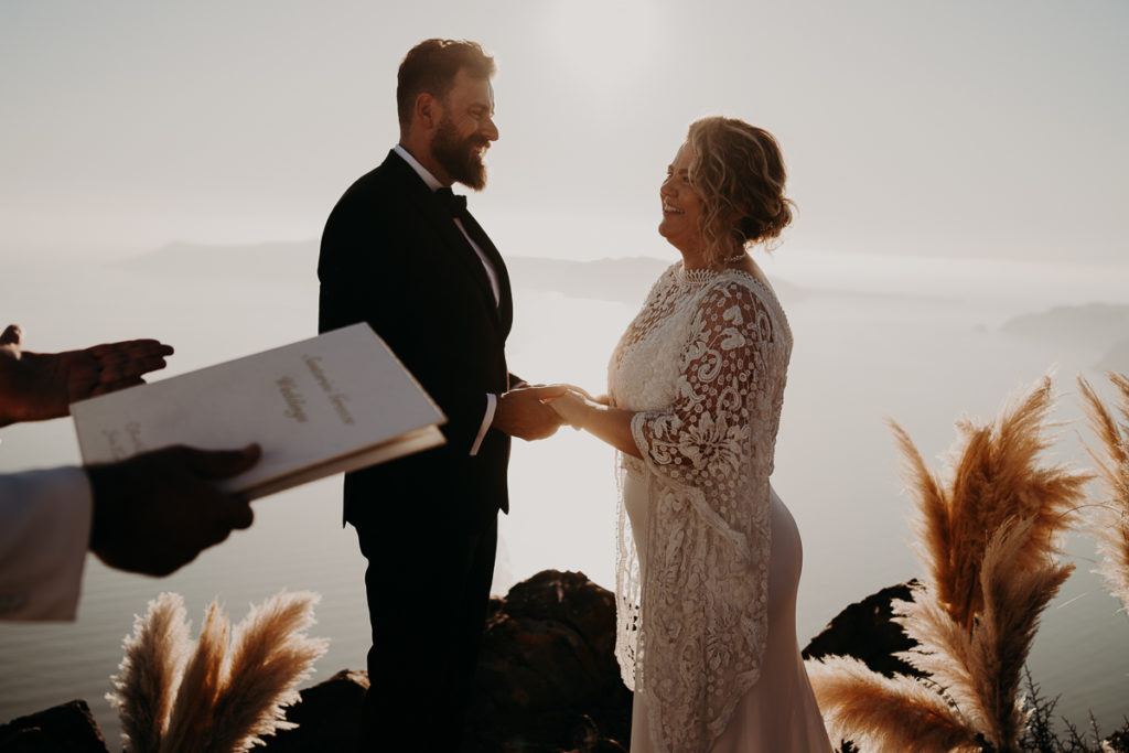laurene and the wolf elopement santorin julia and evita 114 1024x683 - Santorini elopement : Katie + James