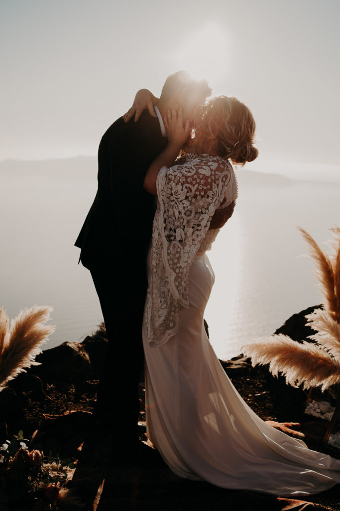 laurene and the wolf elopement santorin julia and evita 117 683x1024 - Santorini elopement : Katie + James