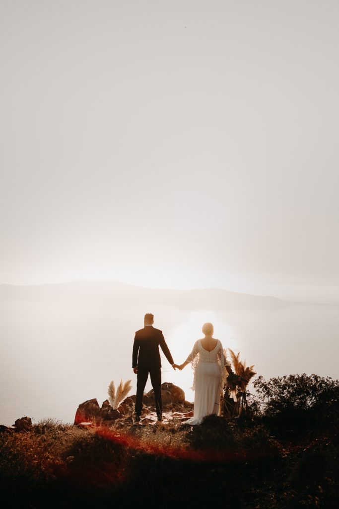 laurene and the wolf elopement santorin julia and evita 129 683x1024 - Santorini elopement : Katie + James