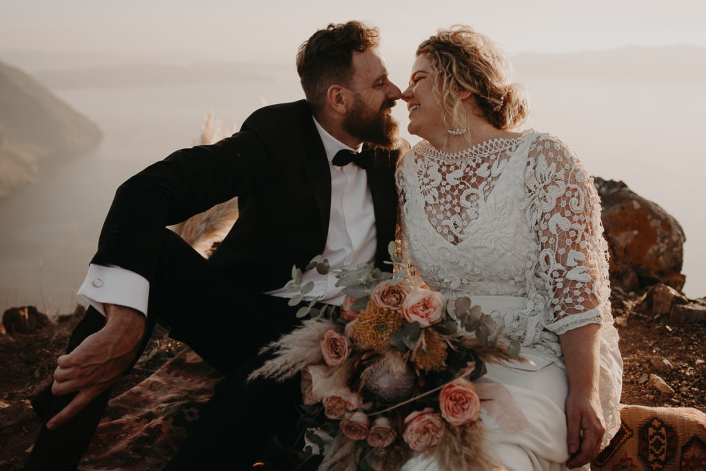 laurene and the wolf elopement santorin julia and evita 136 1024x683 - Santorini elopement : Katie + James