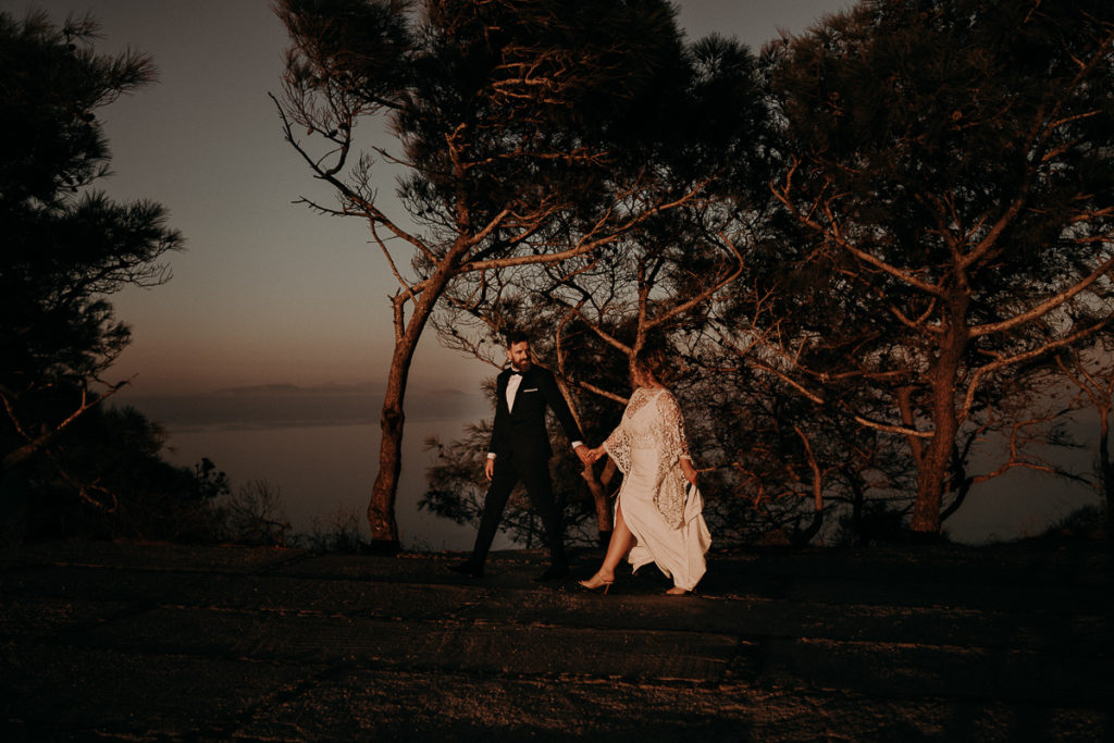laurene and the wolf elopement santorin julia and evita 139 1024x683 - Santorini elopement : Katie + James
