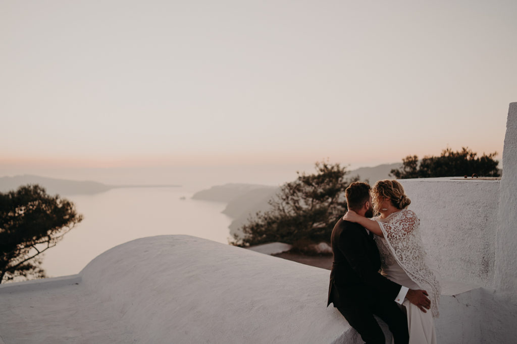 laurene and the wolf elopement santorin julia and evita 156 1024x683 - Santorini elopement : Katie + James