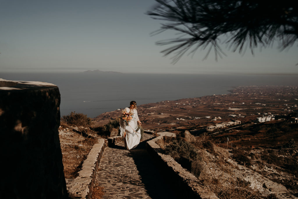 laurene and the wolf elopement santorin julia and evita 51 1024x683 - Santorini elopement : Katie + James