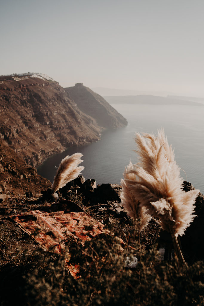 laurene and the wolf elopement santorin julia and evita 70 1 683x1024 - Santorini elopement : Katie + James