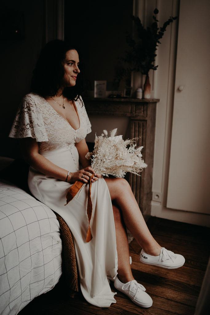 mariage paris urbain boheme 103 683x1024 - Mariage bohème et urbain à Paris