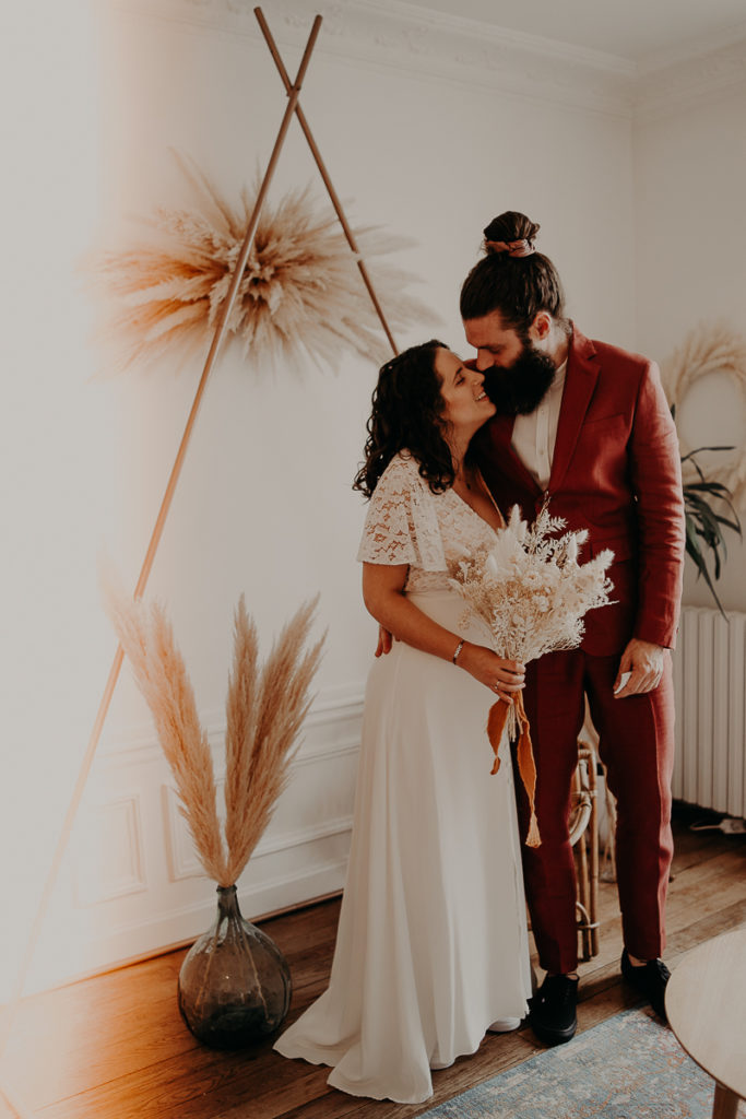 mariage paris urbain boheme 137 683x1024 - Mariage bohème et urbain à Paris