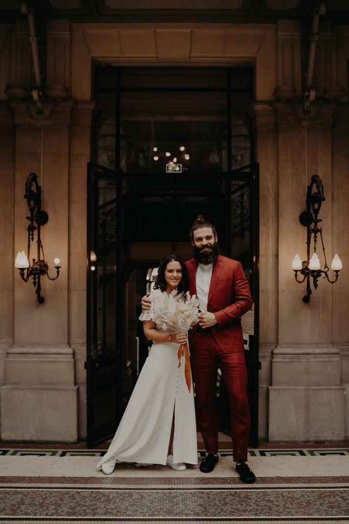 mariage paris urbain boheme 165 683x1024 - Mariage bohème et urbain à Paris