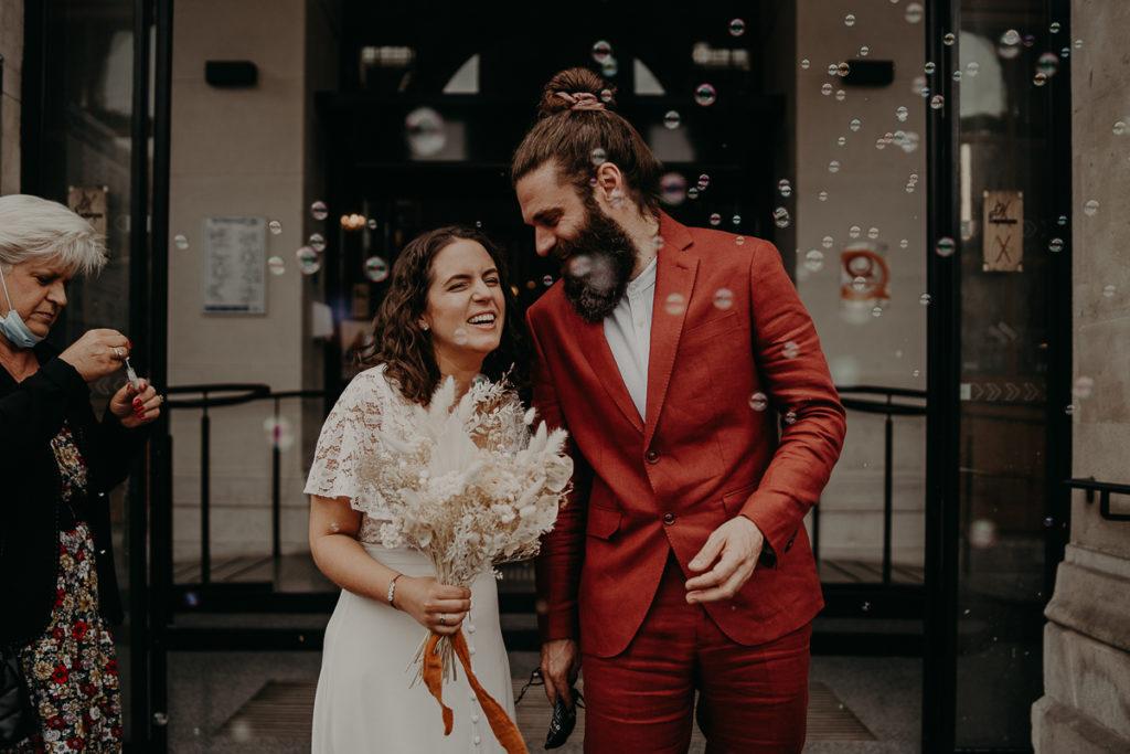mariage paris urbain boheme 252 1024x683 - Mariage bohème et urbain à Paris