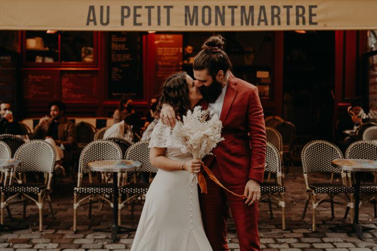 mariage paris urbain boheme 291 768x512 - Mariage bohème et urbain à Paris