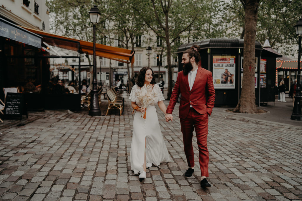 mariage paris urbain boheme 301 1024x683 - Mariage bohème et urbain à Paris