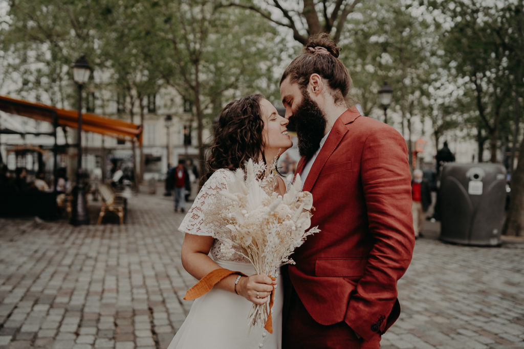 mariage paris urbain boheme 304 1024x683 - Mariage bohème et urbain à Paris