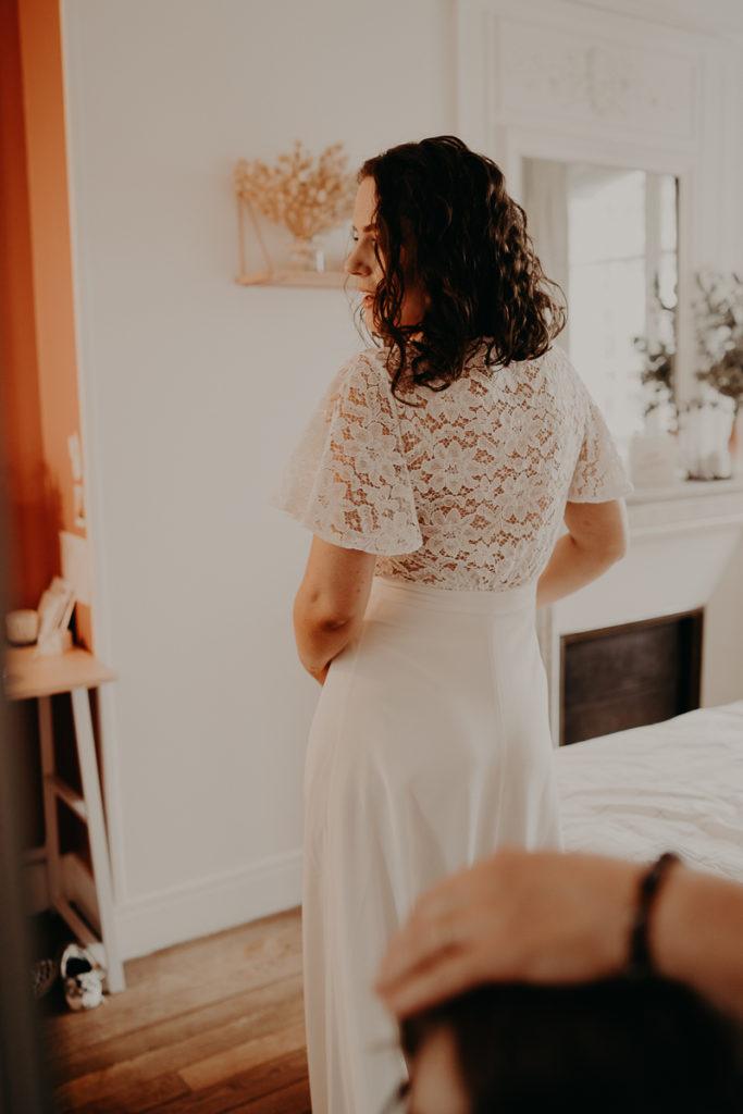 mariage paris urbain boheme 94 683x1024 - Mariage bohème et urbain à Paris